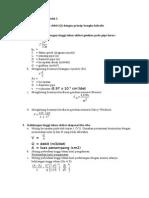 Prosedur Perhitungan Modul 2