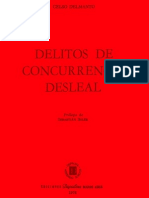 Delmanto. Celso - Delitos de Concurrencia Desleal