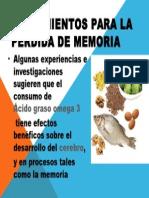 Tratamientos Para La Perdida de Memoria