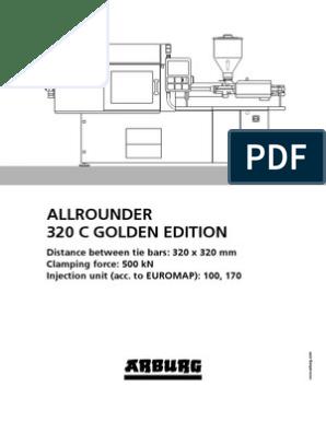 Arburg Allrounder 320c Golden Edition Td 523871 en Gb | Poly(Methyl
