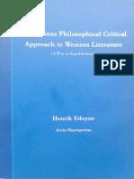 Henrik Edoyan, A Religius Philosophical Critical Approach 2015