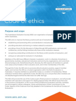 AES Code of Ethics
