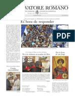 L´OSSERVATORE ROMANO - 24 Abril 2015