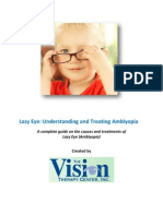 Lazy Eye Understanding and Treating Amblyopia