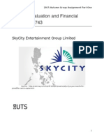 Sky city industry analysis