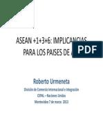 Los Vinculos Asean-America Latina y El Caribe