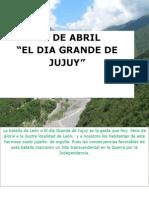 """""""EL Dia Grande de Jujuy"""""""