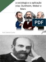 Clássicos Da Sociologia e a Aplicação de Suas Teorias