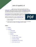 Diferencias Entre El Español y El Portugués