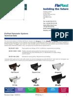 Rainwater Technical Data Sheet
