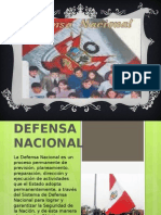 Defensa Nacional