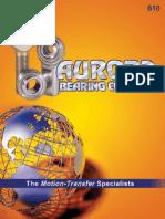 AuroraAurora Bearing  Catalog