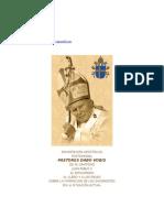Juan Pablo II - Pastore Dabo Vobis