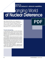 The Changing World of Nuclear Deterrence