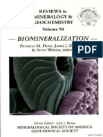 (Reviews in Mineralogy and Geochemistry'', 54) Patricia M. Dove, James J. de Yoreo, Steve Weiner-Biomineralization-Mineralogical Society of America (2003)
