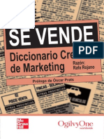 Se Vende Diccionario Creativo de Marketing