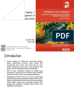 Design and Management of Linkages for Conservation
