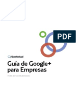 Guía de Google Plus para empresas (2011.11)