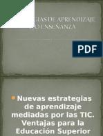 Estrategias de Aprendizaje y7o Enseñanza
