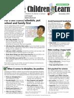 November 2014 - Helping Children Learn