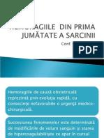HEMORAGII DE  SARCINA TRIM I.ppt