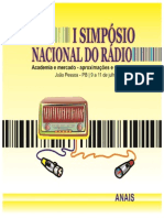 Anais i Simposio Nacional Do Radio Revisado