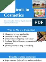 chemicals in cosmetics presentation, period 6