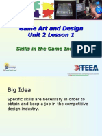 unit 2 1 skills in the game industry