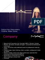 MAC Cosmetics Presentation