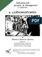 [D&D 2e - ITA] [Avventura] - Il Laboratorio