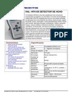 HAL HFX105 Formaldeido