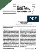 An Expert System Shell Expert System Environment VM