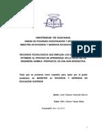 Capitulo i,II,II,IV,V,Vi de José Alvarado Barcia