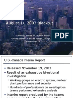 Blackout Report Presentation 11-19-03