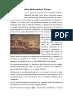 Historia de La Ingenieria Europa