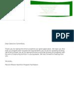 grant assignment fina