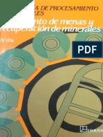 Tecnologia de Procesamiento de Minerales-Tratamiento de Menas y Recuperación de Minerales - Wills 2a edición,