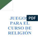 Material Religion Fichas Crucigramas Pupiletras Etc