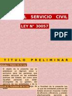 Ley Servicio Civil
