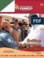 Revista 110 Días - Gobierno Regional del Cusco