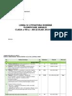 Planificare Clasa a Vii ACORINT CLS VII