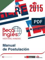 Manual Postulacion Ingles