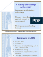 a history of buildings archaeology