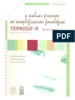 Teprosif-r (Set de Láminas)