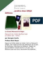 Flash de THOT - Georges Manuscrit d'Alger