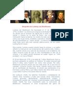 Biografia de Ludwig Van Beethoven