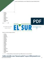 """Califica Astudillo como """"denuncia patito"""" la que el PRD presentó en su contra en la Fepade 22-04-15"""