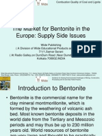 The Market for Bentonite in the Europe