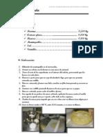 Recetario de Pastelería y Repostería (VI)