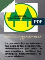 Ley General de Sociedades Cooperativas